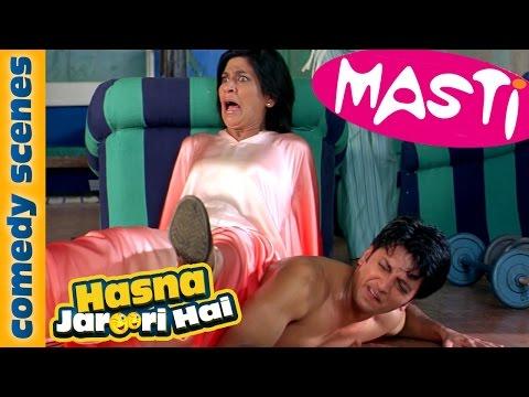 Hasna Zaroori Hai - Featuring Riteish Deshmukh - Masti Comedy Scene