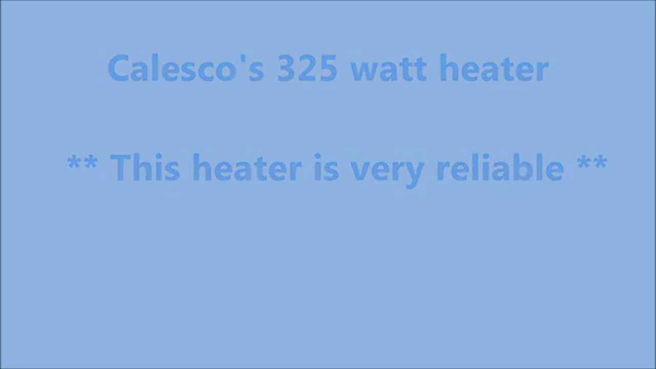 325 watt calesco waterbed heater