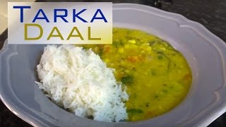 Easy Fuss Free Tarka Daal Tutorial Video Blog Lentils