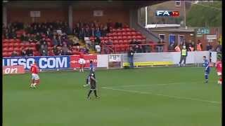 AFC Wimbledon v Ebbsfleet United - The FA Cup 1st Round - 06/11/10