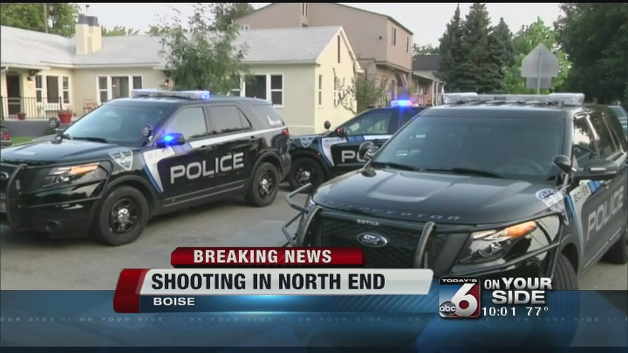Boise Police investigate shooting in North End