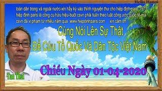 Ta Thai.Truc Tiep.Chieu ngay  01-04-2020