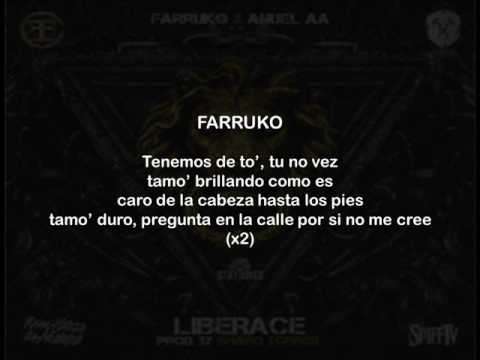 Farruko Ft Anuel AA - Liberace (Letra)