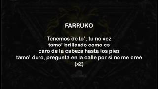 farruko ft anuel aa liberace letra