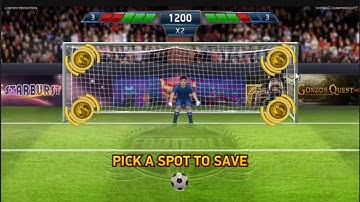 BIG WIN On Football Champions Cup Slot Machine
