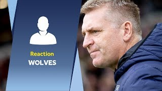 Post Wolves reaction | Dean Smith