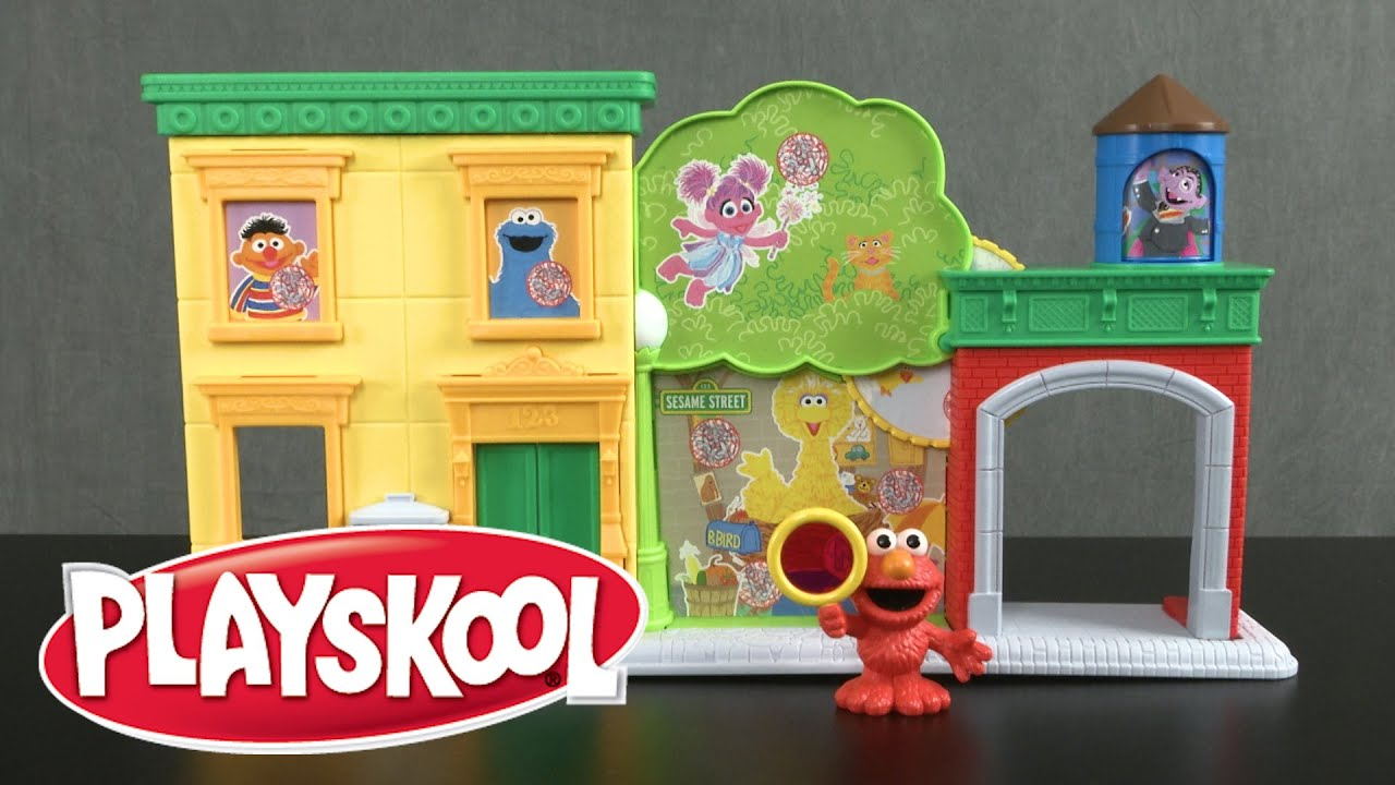 Sesame street discover abcs with elmo playset from hasbro for Elmo abc