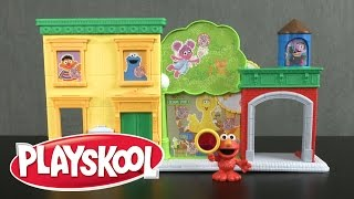 Sesame Street Discover ABCs with Elmo Playset from Hasbro