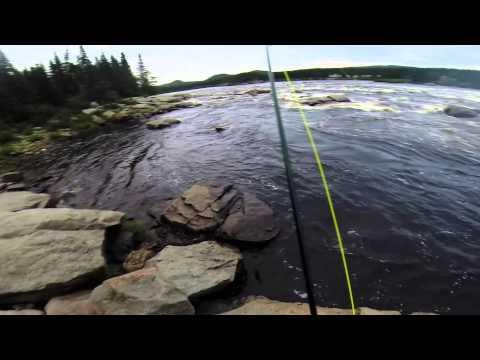Eagle River , Labrador , Atlantic Salmon , Fly Fishing Newfoundland