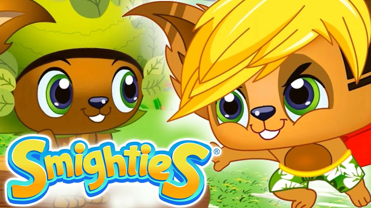Smighties Low Memory And The Big Wave Funny Cartoon Video Videos For Kids Youtube