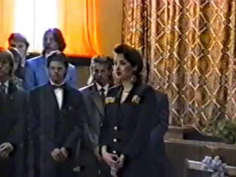 25 мая 1993 г. Школа №417. Последний звонок.