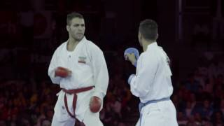 Tension builds up at Karate World Championships and stars prepare to shine in Linz