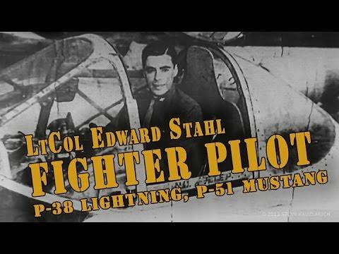 LtCol ED STAHL: P-38, P-51, P-61, B-47, C-141 (Pilot)