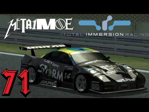 TOTAL IMMERSION RACING #71 Lister Storm @ Monza