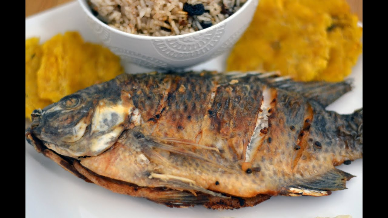 Colombian fried whole fish recipe how to make colombian for How to fry fish with flour