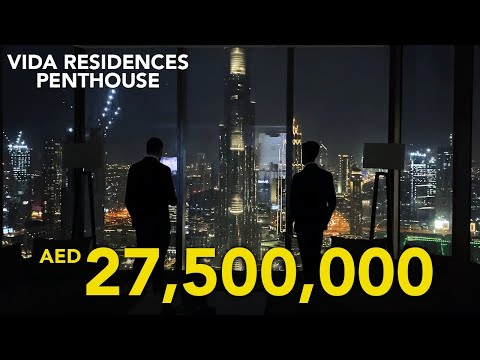 INSIDE A 27.5 MILLION FULL FLOOR DUBAI PENTHOUSE AT VIDA RESIDENCES BY EMAAR | Property Vlog #38