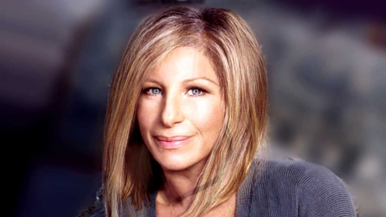 streisand's changing face - 65 years in a few minutes