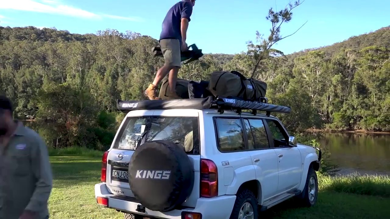 4Wd Supacentre Roof Rack Installation kings steel flat roof rack | suitable for 120 series prado | inc. mounts |  powdercoated finish