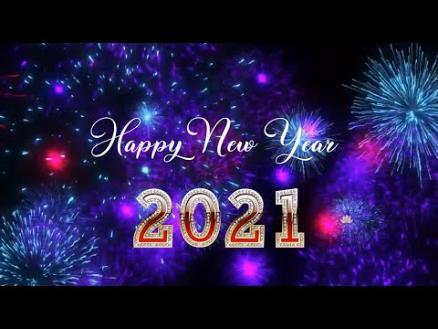 2021 Happy New Year Youtube