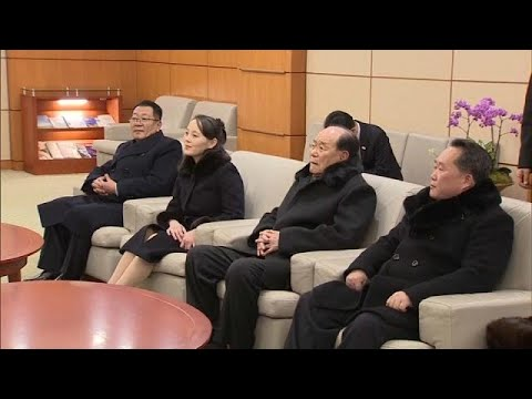 Kim Jong Un's sister arrives in South Korea for the opening ceremony of the Winter Olympics