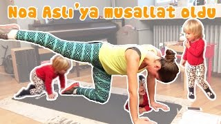 Noa makes it hard for Ash to exercise | Our Family