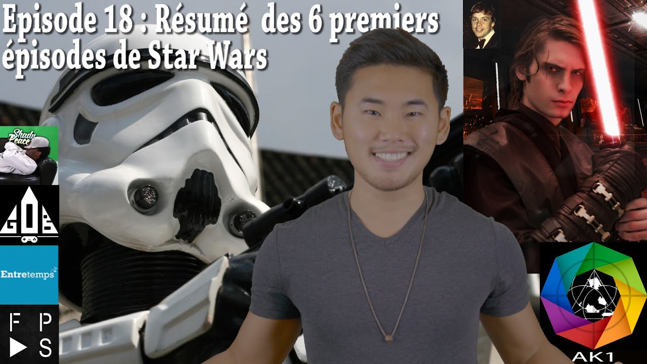 resume des 6 premiers star wars