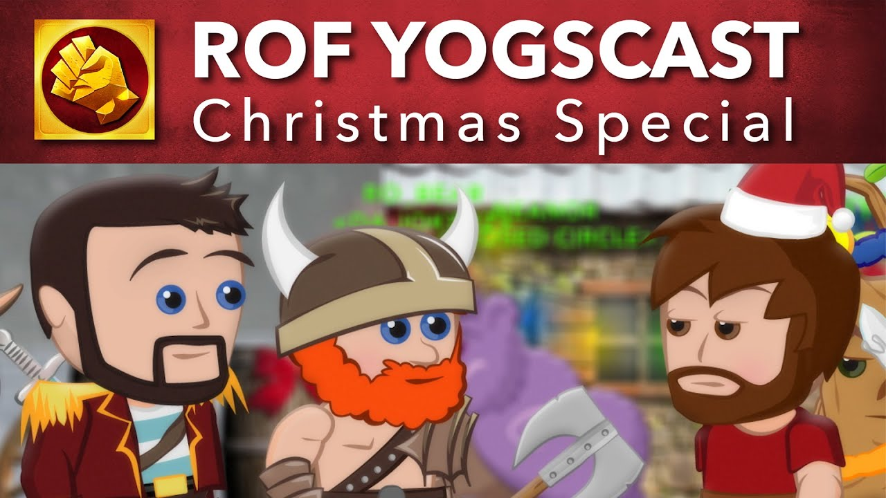 A Fighte Before Christmas' - ROF Yogscast Christmas Special - YouTube