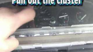 how to install glow gauges 92-95 honda civic