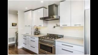Video White gloss kitchen cabinets design download MP3, 3GP, MP4, WEBM, AVI, FLV Juni 2018