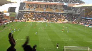Wolves vs Man City 22/04/12 Final Moments Before Relegation, Chants, Loyal Fans