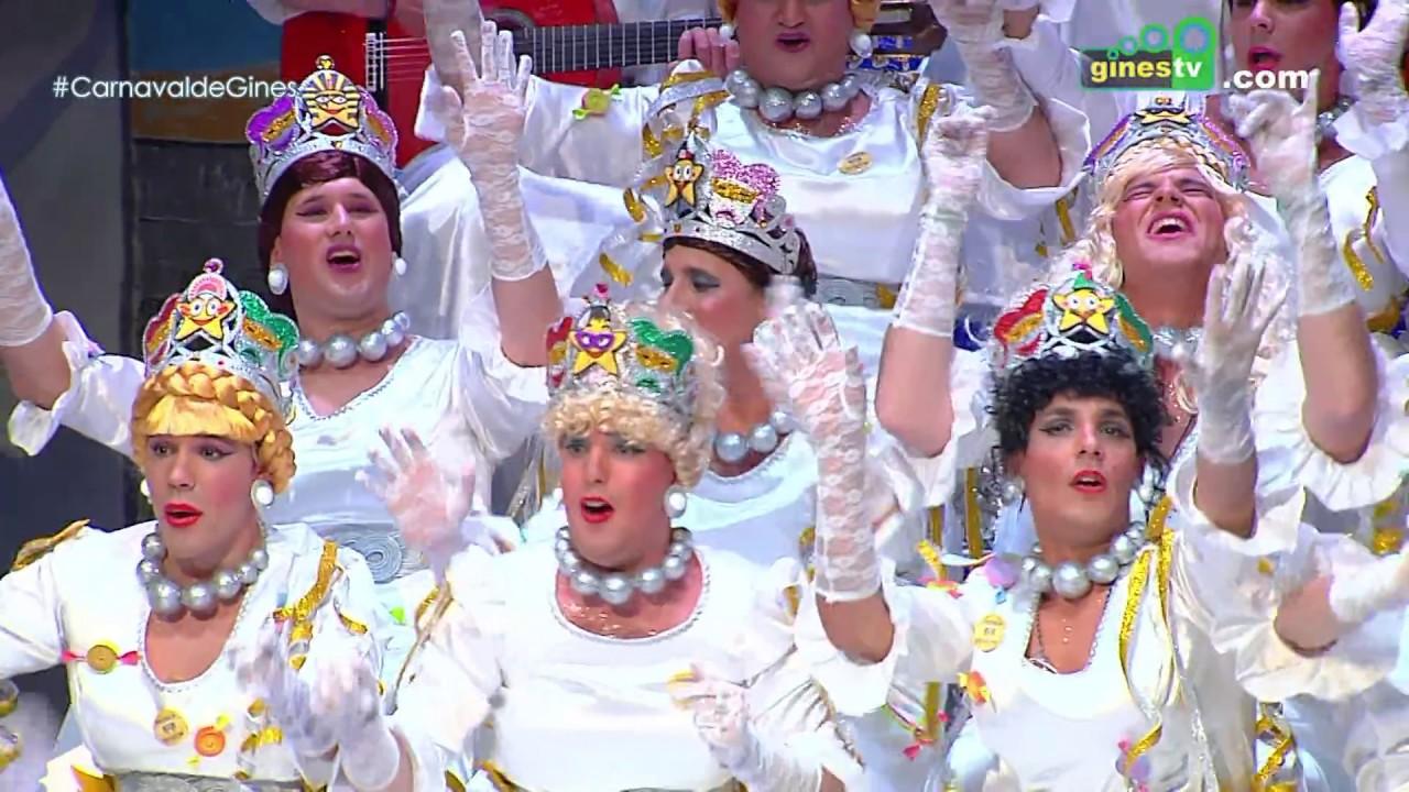 Las niñas de José Luis. Carnaval de Gines 2018 (Segunda semifinal)
