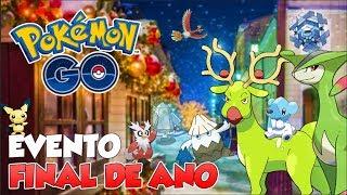 EVENTO CABULOSO DE NATAL E ANO NOVO -  Pokémon Go | PokeNews