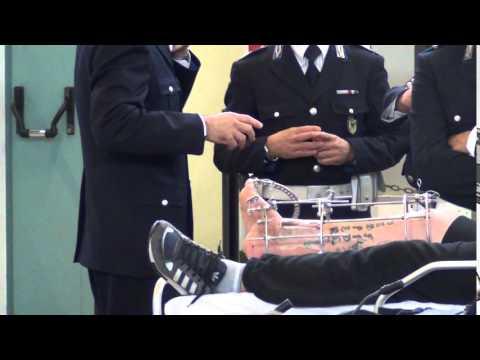 Processo per la morte di Ciro Esposito - La gamba di De Santis