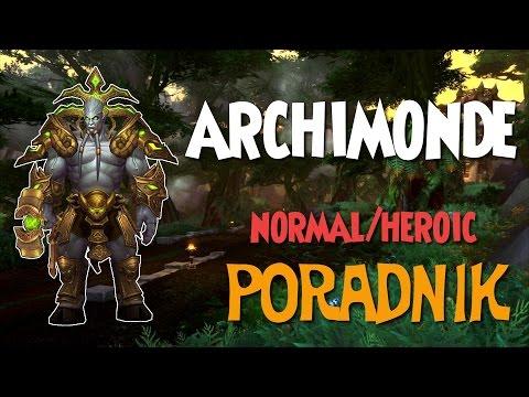Archimonde Normal/Heroic - Poradnik do Hellfire Citadel Raid (Warlords of Draenor)