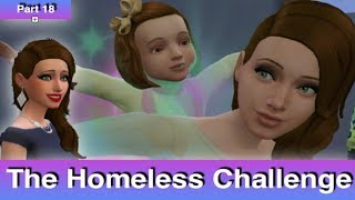 The Sims 4: Homeless Challenge // Intruder-Daughter