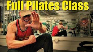 Full 20 Min Pilates Abs Class - Sean Vigue