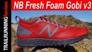 New Balance Fresh Foam Gobi v3 Review - Aptas para asfalto y para trail running