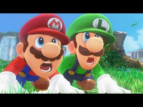 Super Mario Odyssey - Mario & Luigi Walkthrough Part 1