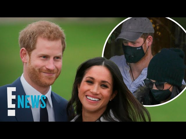 Meghan Markle & Prince Harry Spotted in Beverly Hills   E! News