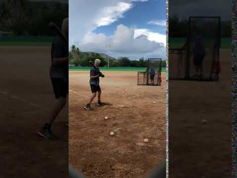 Jose M Torres - batting workout-9