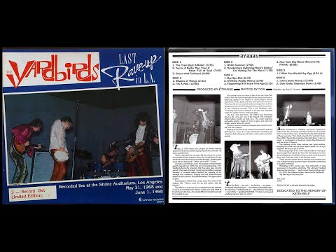 The Yardbirds Last Rave up in L A