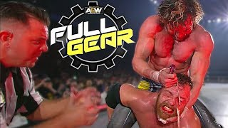 Jon Moxley vs Kenny Omega Go All Out At AEW Full Gear | All Elite Wrestling News Results Review
