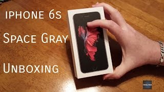 iPhone 6S 64gb Space Grey Unboxing