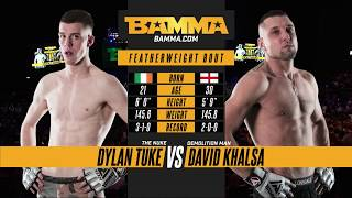 BAMMA 32:  Dylan Tuke vs David Khalsa