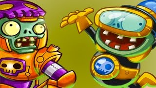 РАСТЕНИЯ против ЗОМБИ #3 - Plants vs. Zombies Heroes - игра про мультфильм #КРУТИЛКИНЫ