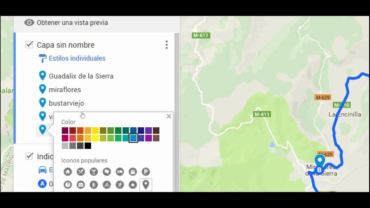 Como Hacer Un Mapa.Crear Mapas Con Google Maps