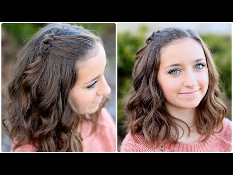 Diy Triple Knot Accents Hairstyles For Short Hair Youtube