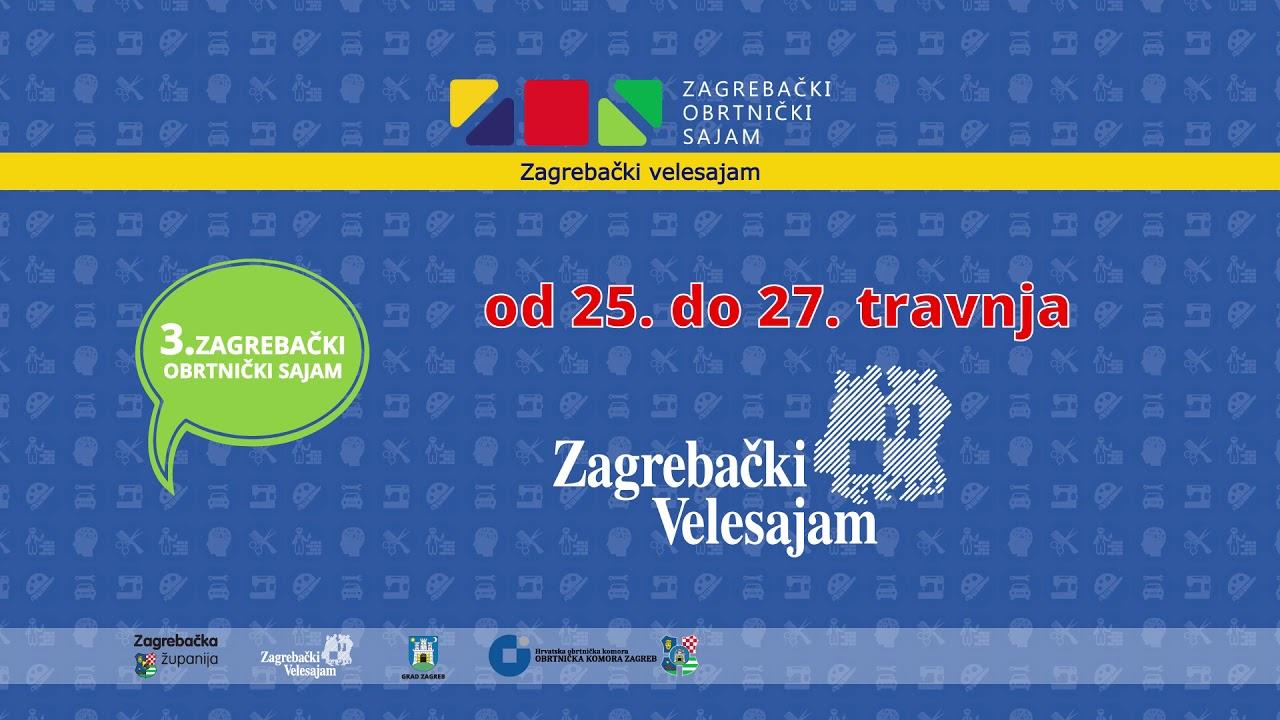 Slikovni rezultat za 3. Zagrebački obrtnički sajam