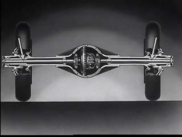 It Floats - Chevrolet Full Floating Rear Axle (1936)  - Buy American