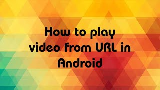 How to Implement Video View in Android Studio | VideoView